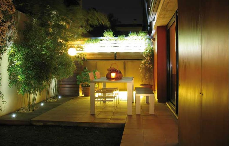 Plusled blog blog sobre la iluminaci n led y la for Luces patio exterior