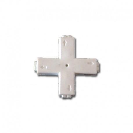 Conector en Cruz Tira LED
