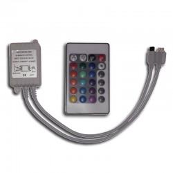 Controlador Infrarrojo con control remoto 16 botones