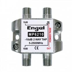 Derivador 2 salidas - 10dB (5/2400Mhz)