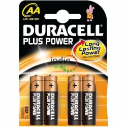 Pila Duracell Alcalina LR06 AA (Pack4)