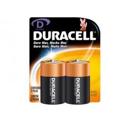 Pila Duracell Alcalina LR20 D (Pack2)