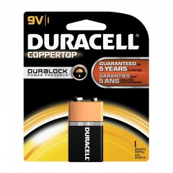 Pila Duracell Alcalina 6LR61 9V