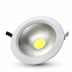 Downlight Reflector LED Carcasa Blanca 30W