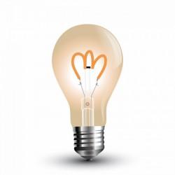 Bombilla LED filamento E27 A60 3W