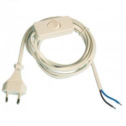Conexión de cable plano con interruptor paso 1.5m