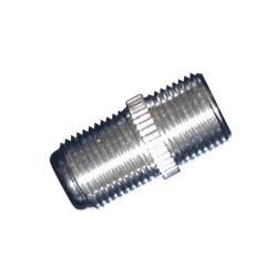 Adaptador metal F hembra.