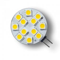 LED Spotlight 2.5W 12V G4 SMD5050 Conexión lateral (2 unidades)