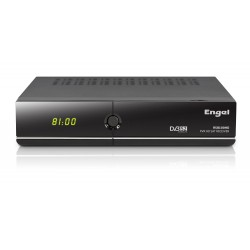 Engel RS8100HD - Receptor satélite de sobremesa (Full HD, PVR, Lector Conax, WiFi, USB 2.0, HDMI, DVBS2, 1 tunner)