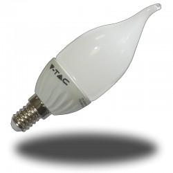 Bombilla LED 4W E14 Candela Llama