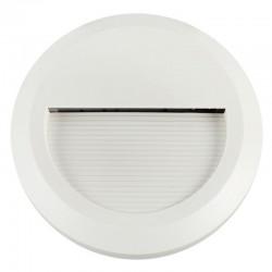 Baliza LED 3W empotrable redonda exterior