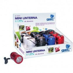 Linterna LED 3w expositor