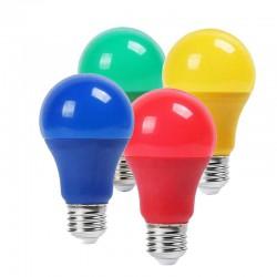 Bombilla LED 9W E27 Epistar RGB