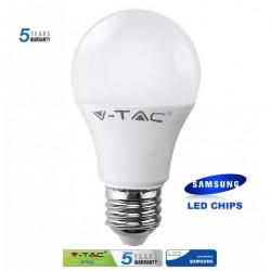 Bombilla LED 9W E27 A60 5 años de garantía