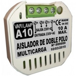 Aislador de doble polo LED