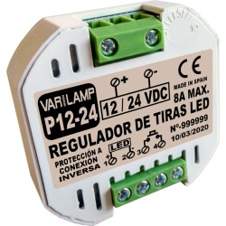 Regulador a pulsador para Tiras LED 12V-24V