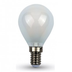 Bombilla LED esférica 4W E14 P45