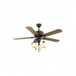 Ventilador de techo CARINA con luz (3xE27)