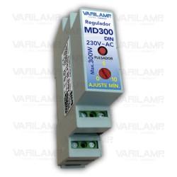 Regulador UNIVERSAL a pulsadores para cualquier LED regulable (DIN)
