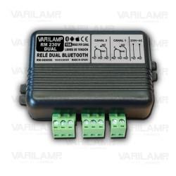 Relé controlador por Bluetooth para teléfono móvil 230V DUAL