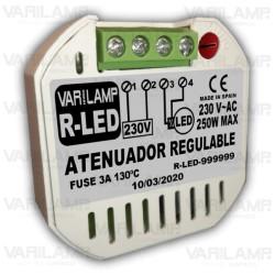 Regulador a potenciómetro para Tiras LED de 12V a 24V (DC)