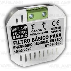 Filtro básico para encendido residual en LED