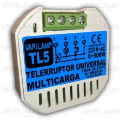 Telerruptor universal para cualquier tipo de carga a 230VAC