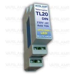 Telerruptor universal en carril DIN para cualquier tipo de carga a 230VAC