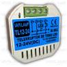 Telerruptor a pulsadores para Tiras LED de 12V a 24VDC