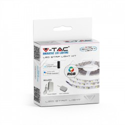 Tira de LED Set 10W RGB + Blanco IP20 compatible con Alexa & Google Home