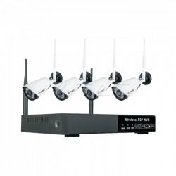 Kit Videovigilancia Wireless NVR Cámaras IP