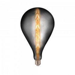 LED Bulb - 8W E27 G165 With Amber Glass 2200K