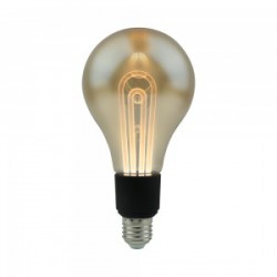 LED Bulb - 8W E27 S180 With Grey Smoky 2200K