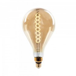 Bombilla filamento LED E27 5W Tubular T60 2700K