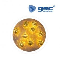 Guirnalda LED de bombillas 4M
