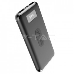Power Bank 10000mAh con pantalla digital carga por Wireless