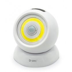 Aplique LED 2W con sensor de movimiento a pilas