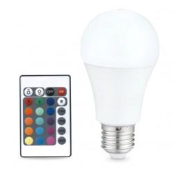 Bombilla LED 6.5W E27 RGB