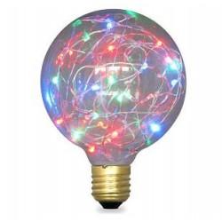 Bombilla LED E27 G95 Starlight RGB