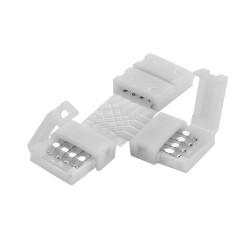 Conector para Tira Led RGB Monocolor en L soldable