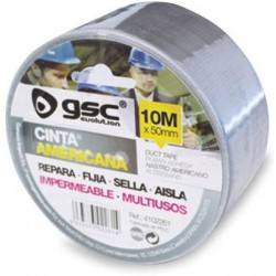 10M Cinta americana impermeable 50mm