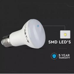 Bombilla LED 8W E27 R63 5 años de garantia