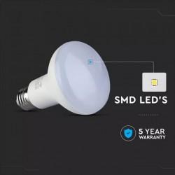 Bombilla LED 10W E27 R80
