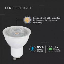 Bombilla LED GU10 6.5W Regulable 5 años de garantia