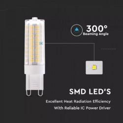 Bombilla G9 LED 7W