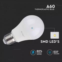 Bombilla LED 9W E27 A60 Termoplástica
