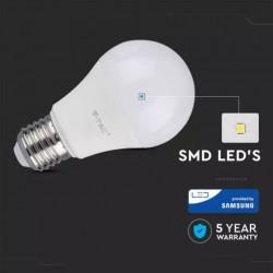 Bombilla LED 8.5W E27 A60 125Lm/W 5 años de garantía